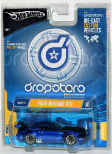 Hot Wheels Dropstars 1/50 Ford Mustang GTR Diecast Car