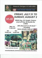 CIVIC HOLIDAY WEEKEND SALE