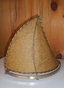 Sail Boat Table Lamp Vintage