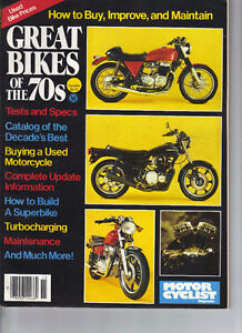 Motorcyclist magazine  1970