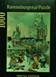 RAVENSBURGER PUZZLE 1000  WINTER MASTERPIECE COMME NEUF