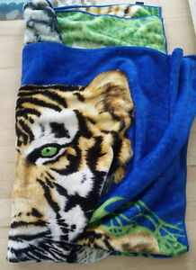 2 Large soft and warm blankets, $ 10 EACH