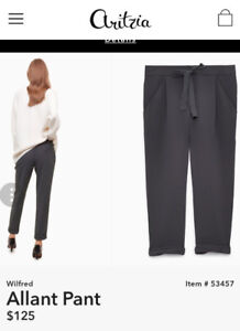 Wanted: Wilfred Allant pants size 6