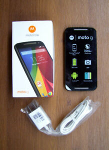 Motorola Moto G2 & Case, Unlocked, New