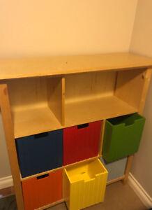 Kids art centre supplies or toy storage