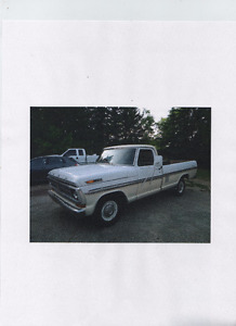 1971 f100 ranger xlt  want to trade for a crew cab