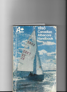 DINGHY SAIL SET - ALBACORE - MAIN SAIL AND JIB