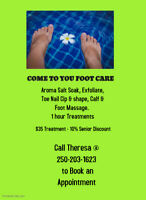 COME TO YOU FOOT CARE