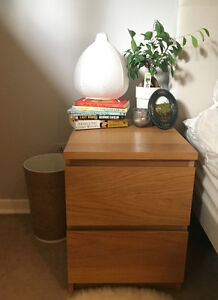 IKEA MALM 2-drawer chest/nightstand
