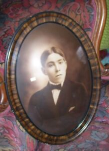 Pre-Loyalist  Maugerville Sheffield Family Oval Glass Photo