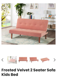 New sofabed unused