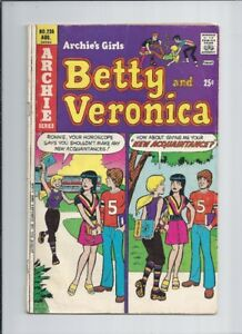 Archie's Girls Betty and Veronica (lot of 10) 1975-1981