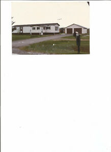 MATHESON COUNTRY MOBILEHOME LARGE GARAGE 3 ACRES
