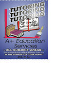 Tutoring in all subjects, grades and areas of Calgary.