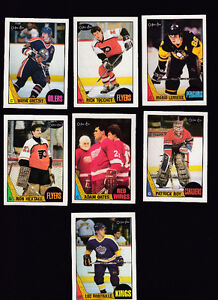 Nice 1987/88 O-Pee-Chee NHL Card SET Complte 264 cards