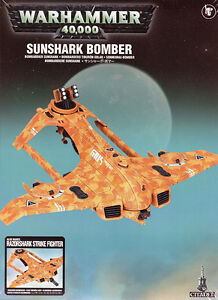 Tau Empire Sunshark Bomber Warhammer 40k New Factory Sealed BNIB