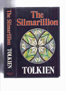 The Silmarillion -by J R R Tolkien ---with Fold Out Map at Rear
