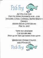 Mike Mundell Fish Fry - Westbrook United Church
