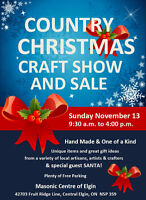Country CHristmas Craft Show and Sale