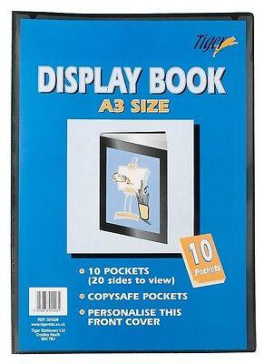 Quality Presentation Display Book Portfolio Folder In A5 A4 A3 A2 Personalised