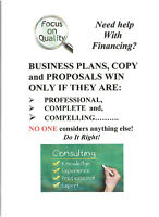 EXCELLENT BUSINESS PLANS, COPY, ADS - GREAT PRICES!