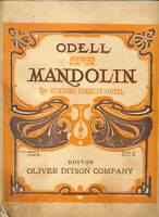 Method for the Mandolin Book 1 by Herbert Forest Odell
