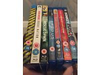 7 Blu ray films!
