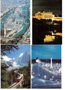 8 cartes postales EXPO universelle de Montréal en 1967