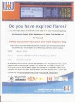 Safety Equipment Education and Flare Disposal Day