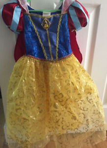 Disney Store Authentic Snow White Costume Size 7/8