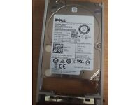 BRAND NEW DELL 1.2TB 10K 2.5INCH SAS HDD