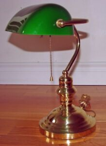LAMPE de BUREAU ¨Banquier¨   ... ¨Bankers¨ OFFICE DESK LIGHT