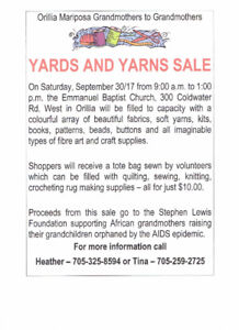 Giant Sale of Fabric, Wool, and Craft Supplies
