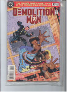 Early 90s Comic Books like new DEMOLITION MAN & ALIENS