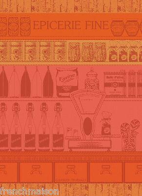 Garnier Thiebaut Dish Woven Towel EPICERIE French Gourmet Grocer Candies $23.50