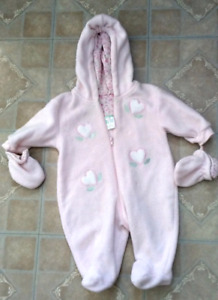 Baby Girl snow suit 9 months