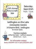 10th Annual Arts & Craft Sale