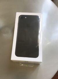 iPhone 7 - Black - 32GB - BRAND NEW STILL SEALED - Unlocked