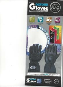 OXFORD - BONE DRY Gloves - All Sizes - NEW at RE-GEAR Kingston Kingston Area image 5