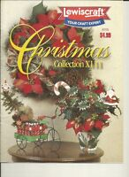 LEWISCRAFT CHRITMAS DECORATION INSTRUCTIONS BOOK