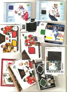 "Selling Game used and auto hockey cards  Sunday in St.John""S"