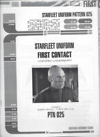 Starfleet uniform undershirt pattern