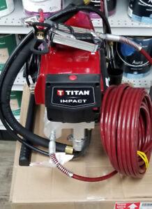 TITAN AIRLESS PAINT SPRAYER IMPACT 440