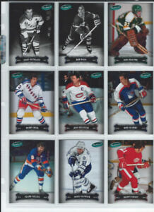 2006-07 Parkhurst Hockey Set With SP Captains and Enforcers