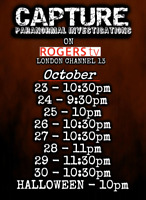 Watch Capture Paranormal on Rogers Tv