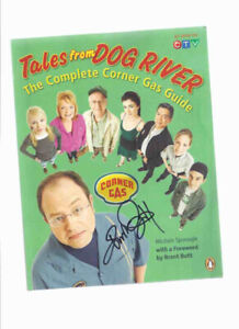 Tales from Dog River:  Corner Gas Guide signed Brent Butt
