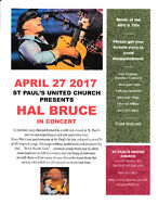 Hal Bruce Concert - From Rock of Ages to Rock Steady Line