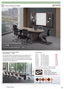 Office Furniture - Conference & Meeting Tables - St. John's, NL