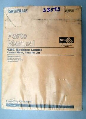 1999 Caterpillar Parts Manual 426c Backhoe Loader Inv.33593