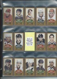 2009-10 Upper Deck Champ Mini Rookie Cards #101-196